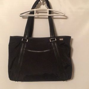 Tumi black tote Shoulder bag medium size